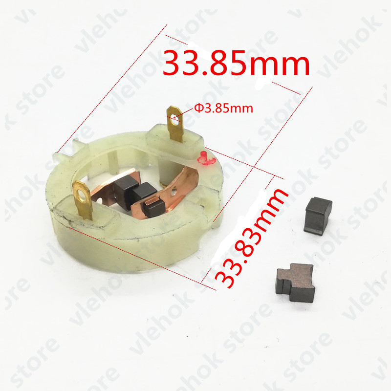 RS 550 Motor carbon brush module replace for RS550 RS-550 BOSCH MAKITA DEWALT HITACHI METABO Milwaukee WORX Hilti Ryobi repair image
