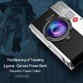 Original remax estilo câmera backup powerbank portátil 10000 mah power bank externo móvel carregador de bateria para iphone universal