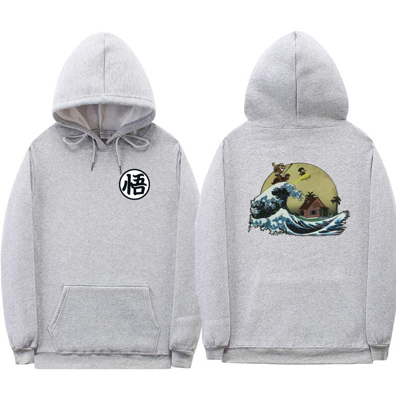 Turtle Island Dragon Ball Men/'s Hooded Sweatshirt