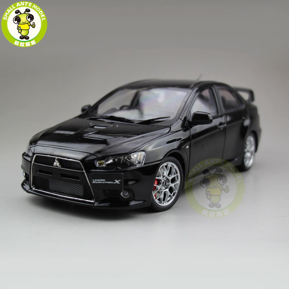 1/18 Mitsubishi Lancer EVO X 10 EVO-X Right Steering Wheel Diecast Metal Car Model Toy Girl Boy Gift Black Color rpha max evo metal black xs