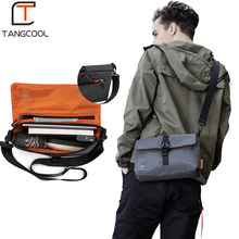 Tangcool Crossbody Bag Men Fashion Street Oxford Messenger Bags Brand Vintage Shoulder Bag Preppy Style Bag for Teenagers(China)