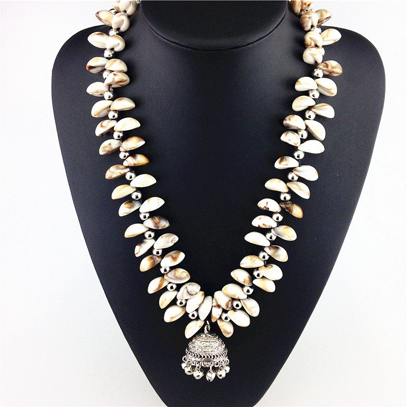 2015 High Quality Resin Shell Fashion Necklaces