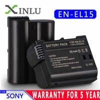 EN-EL15 EN EL15 ENEL15 EL15A Batterie pour Appareil Photo Numérique + LCD USB Chargeur pour Nikon D600 D610 D600E D800 D800E D810 D7000 D7100 d750