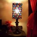 Korean romantic minimalist bedside Led table lamp idyllic rustic bedroom lamps antique Light