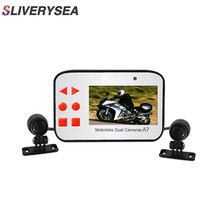 New Hidden Type Motorcycle Driving Recorder Dvr Dashcam Camera Full HD 1080P Video Registrator Dash G-sensor Night Vision Cam