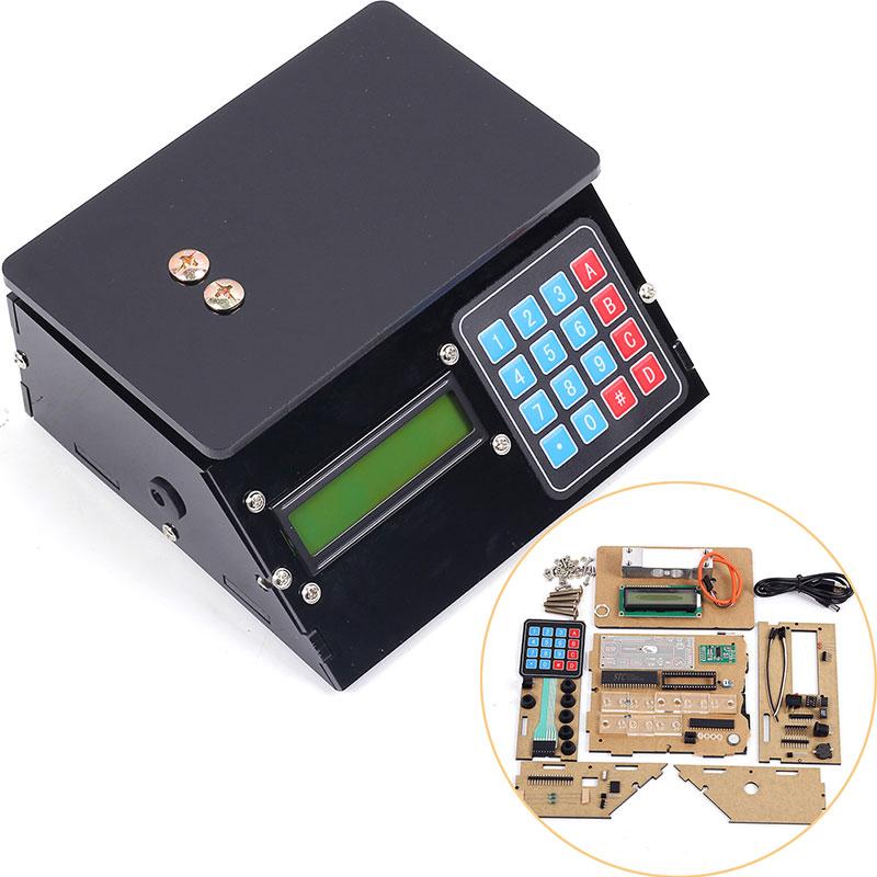 Electronic Scales 10kg 1g DIY Kit Black Shell Pressure Sensor Scale DIY USB Electronic Height Scale Electronic Lab Kit diy experiment electronic laser alarm device kit black