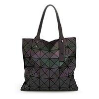 Brand Bao Bao Women Luminous Pearl Laser Sac Bags Diamond Tote Geometry Quilted Shoulder Bag Handbag