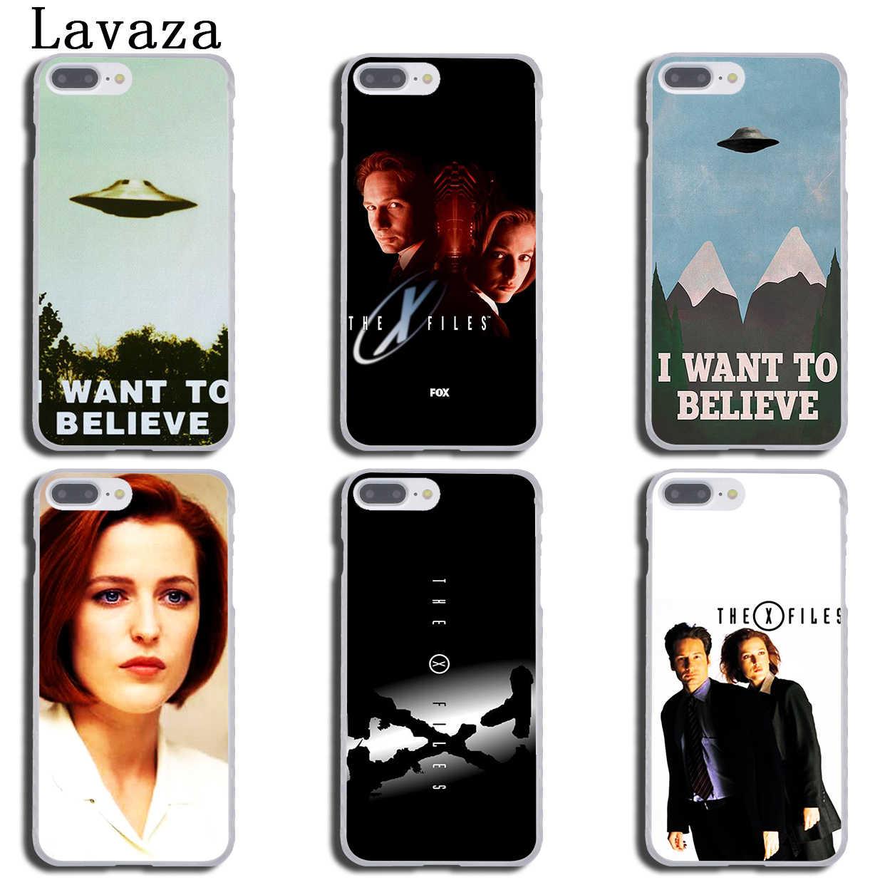 Lavaza X Files ฉันต้องการที่จะเชื่อสำหรับ iPhone XR X XS 11 Pro Max 10 7 8 6 6S 5 5S SE 4S 4 Cover