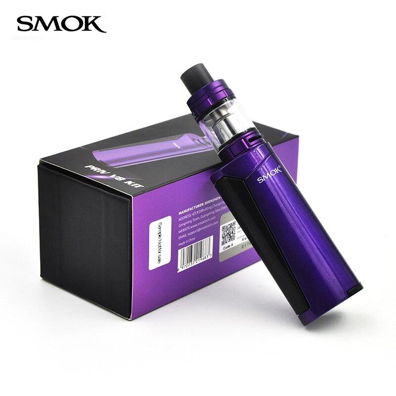 SMOK original electronic cigarette Kit  Priv V8 with TFV8 Baby Tank vaper 3ml Atomizer 60W box Vape e cigarette mod Priv V8 kit электронная сигарета smok gx350 kit