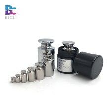BECBI M1 калибровочный вес s, пластины из нержавеющей стали, точность, грамма, груз для весов, вес s