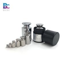 BECBI plaques de poids en acier inoxydable, poids de calibrage M1, plaques de poids de précision
