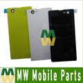 1PC/Lot Battery Cover Housing Back Cover Rear Cover For Sony Z1 mini D5503 M51W Black White Yellow Color
