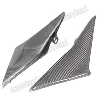 Motorcycle Tank Side Cover Panels Fairing for Honda CBR600RR CBR 600 RR 2003 2004 Carbon Fiber Motorcycle Parts