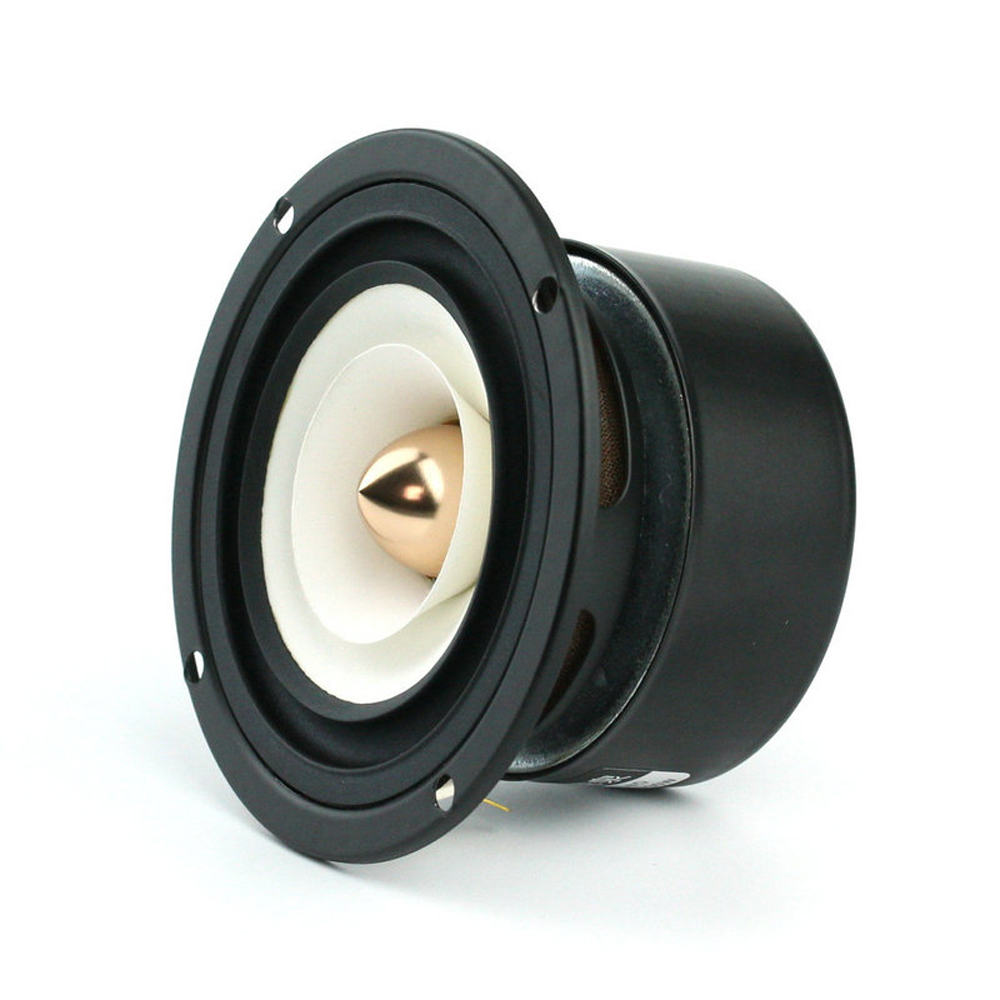 Image 4 - 2PCS/LOT Sounderlink 3'' Full Range frequency Speaker 3 inch 90MM unit with aluminum bullet head-in Subwoofer from Consumer Electronics
