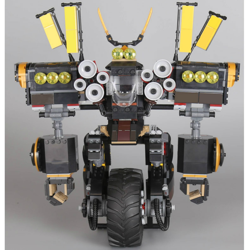 06069 1346 Pcs Ninjagoe Quake Mech Set Jay Kai A Gang's Model Building Blocks Toys for Children Compatible Legoe 70632 lepine 06069 1346 pcs ninjagoe quake mech set jay kai a gang s model building blocks toys for children compatible legoe 70632