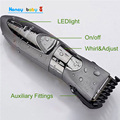 Child Baby Hair Trimmer Removal Waterproof Electric Hair Clipper Razor Silver Beard Trimmer Electric Shaver