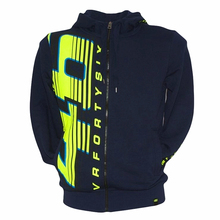 2016 Black Valen Rossi VR46 Moto GP Hoodie Large 46 Sport Adult Sweatshirts fashion motorcycle jacket