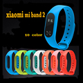 Silicone Strap for Xiaomi Mi Band 2 Colorful  Bracelet for MiBand 2 Smart Band Replace Accessories For Mi Band 2
