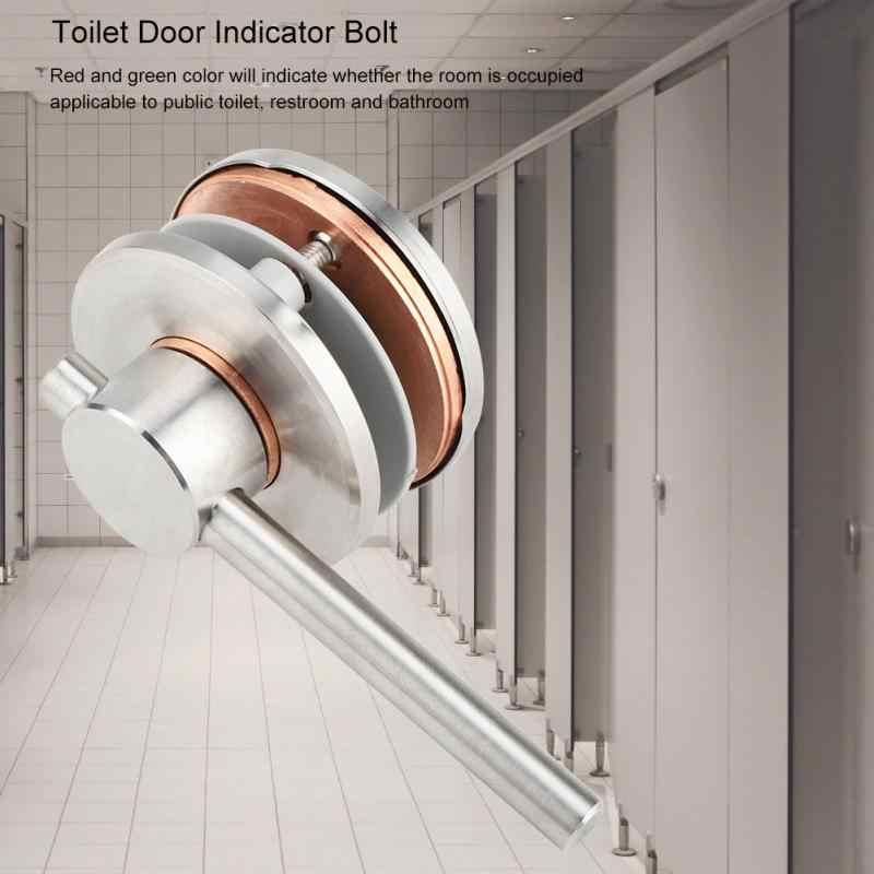 MY-303 Туалет конфиденциальности дверной замок для ванной комнаты вращающийся болт индикатор двери с пустым включенным индикатором