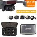 3/4/6 шт./компл. DJI Spark Multi-Слои защитная пленка MCUV/CPL/ND4 ND8 ND16 ND32 фильтр комплект линз прозрачная HD защитная пленка Камера защитное устройство для ...