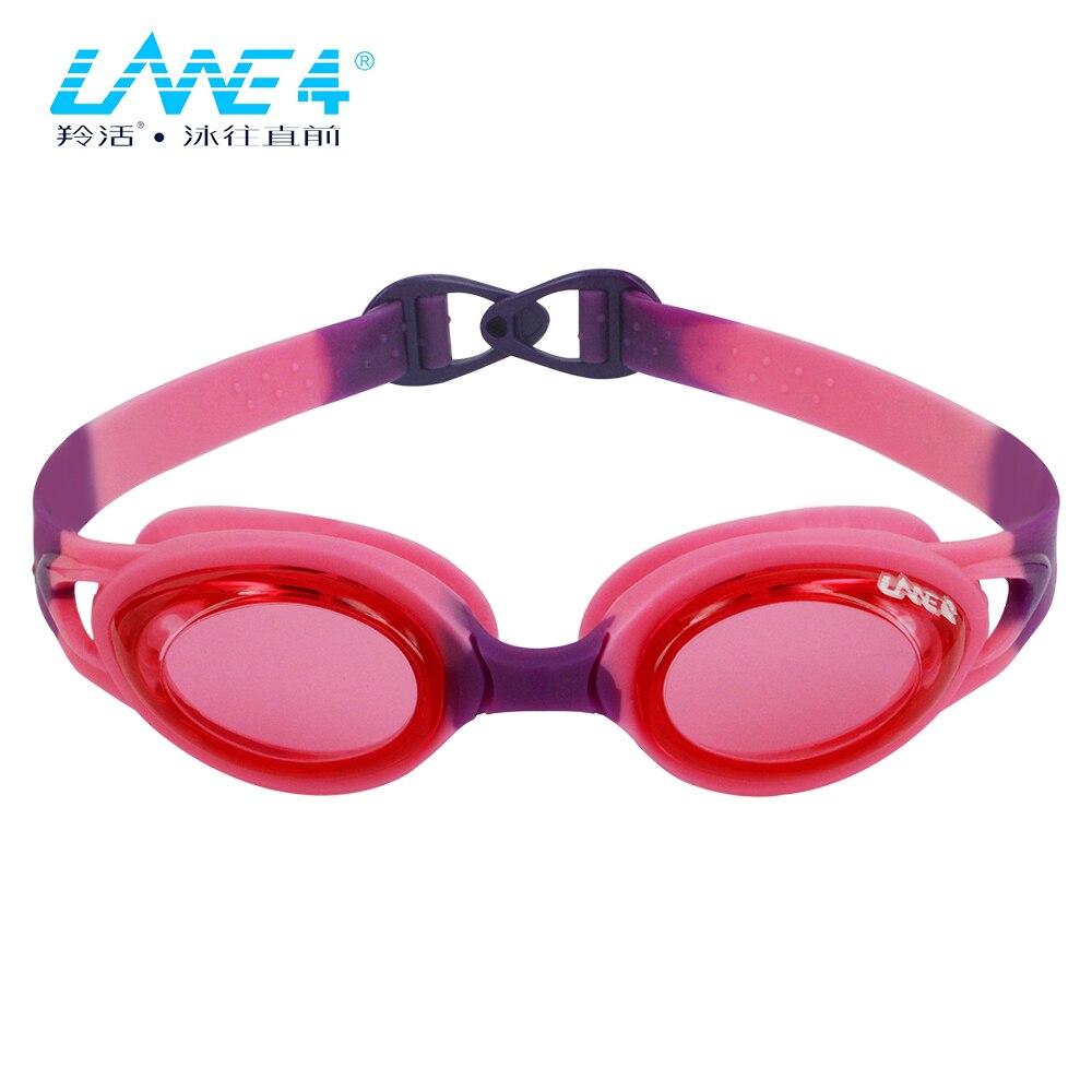 LANE4 Kids Kinder Schwimmbrille Anti-Fog UV-Schutz Wasserdichte - Sportbekleidung und Accessoires