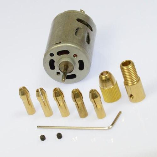 2015 NEW Mini Mirco Electric PCB Motor Drill Press Drilling bits Tool Twist Drill 12V
