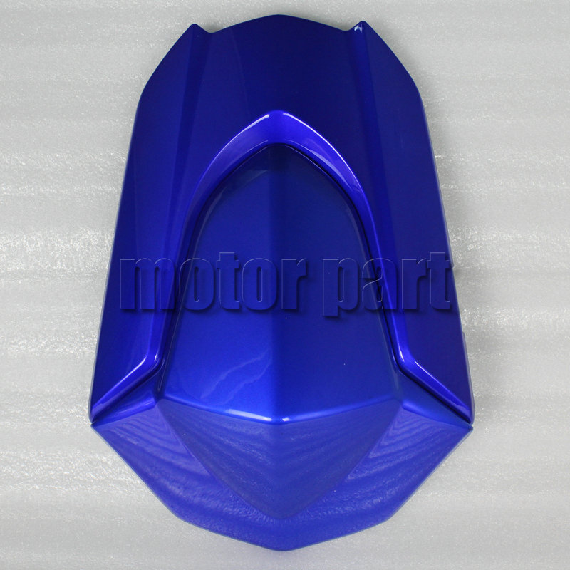For 2009-2015 Suzuki GSXR1000 GSXR 1000 K9 Motorcycle Pillion Rear Seat Cover Cowl Blue 2012 2013 2014 09 10 11 12 13 14 15 в мире науки 9 2009