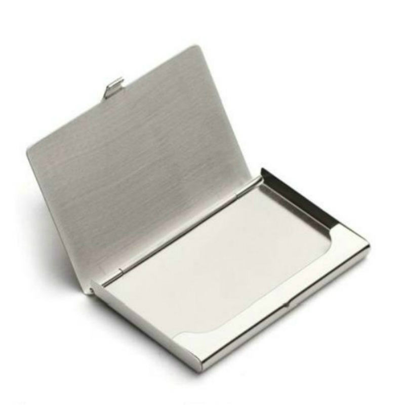Aluminum Alloy Box Business ID Credit Card Case Metal Fine Box Holder Pocket Box(China)