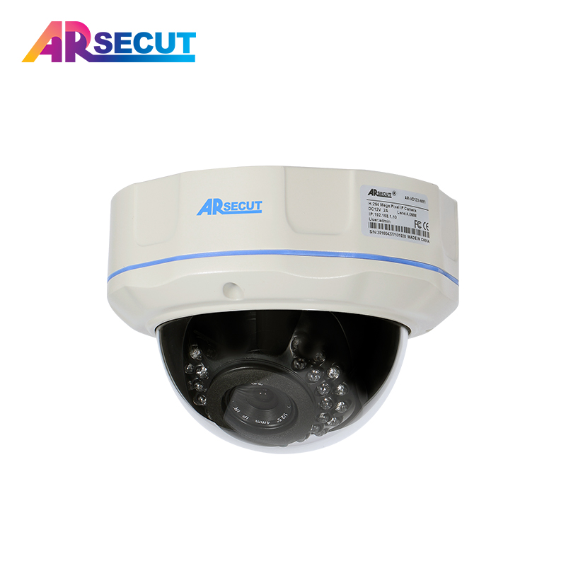ARSECUT POE IP Camera HD 1080P Outdoor Indoor Weatherproof Dome CCTV Camera 2MP Video Surveillance IR Camera Onvif P2P View 2mp ip camera 1080p hd cctv outdoors ir weatherproof day