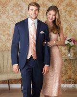 Navy Bule Notch Lapel Two Buttons Men Suits Custome Homme Fashion Tuxedos Wedding Suits Men Jacket