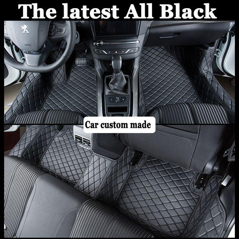 Custom fit car floor mats for Volkswagen Beetle CC Eos Golf  Passat Tiguan  6D  carpet floor liner