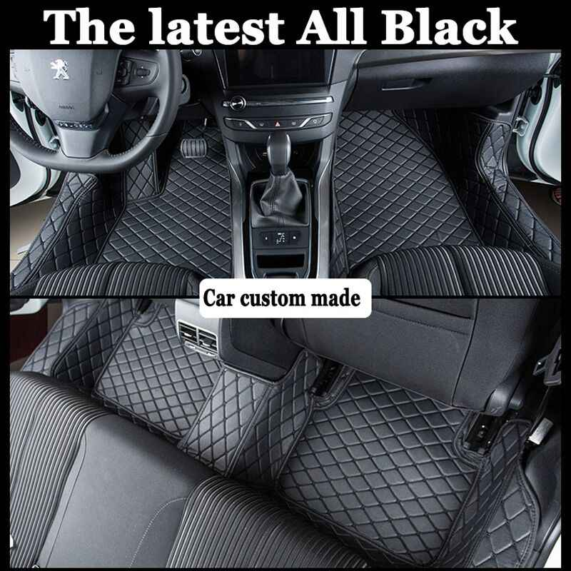 Custom fit esteiras do assoalho do carro para Volkswagen Beetle CC Eos Golf Passat Tiguan 6D tapete do assoalho liner