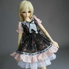 wamami 148 Pink Flower Floral Print Dress Suit 1 4 MSD AOD DOD BJD Dollfie