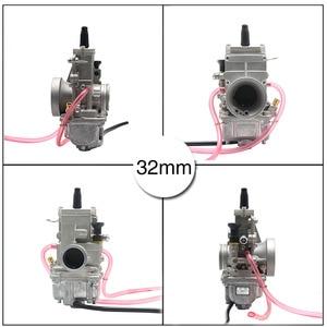 Image 4 - ZSDTRP Mikuni TM24 TM28 TM30 TM32 TM34 TM38 carburador deslizante plano Spigot TM Carbs para Honda CR250 para Kawasaki KX125 150