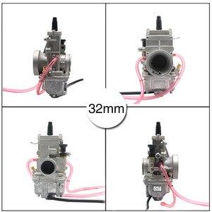 Image 4 - ZSDTRP carburateur plat coulissant Mikuni, compatible avec Honda CR250, pour Kawasaki KX125, TM24, TM28, TM30, TM32, TM34, TM38, 150