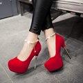 Платформа обувь женская обувь туфли на каблуках женщин насосы sy-1562