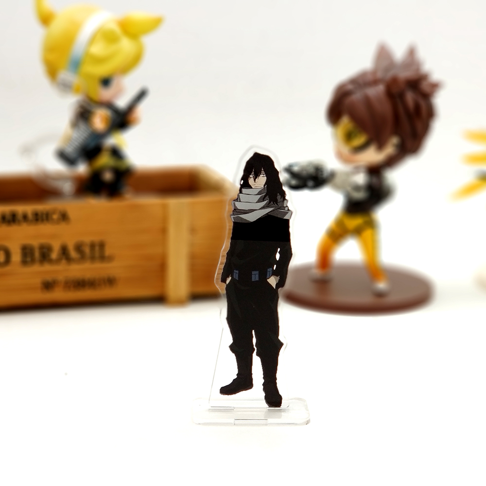 Love Thank You My Hero Academia Eraser Head aizawa shouta SMALL acrylic stand figure model plate holder cake topper anime boku