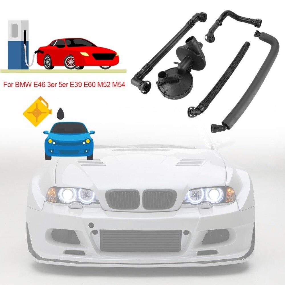 (À partir DE) professionnel Voitures Carter Séparateur D'huile tuyau de reniflard Évent kit de valve de Remplacement Pour BMW E46 3er 5er E39 E60 M52 M54