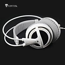 Mejor V1 Cojín Suave Diadema Auricular Auriculares Para Juegos Con Micrófono Oculto de Alta Calidad Para PC Video Musical Juegos de Bajo Precio