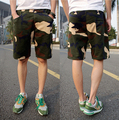 2016 New Hot Sale Casual Shorts Men Cool Summer Knee Length Solid Slim Men Fashion Military Camouflage Short Pants