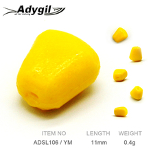 ADYGIL Fishing Lure Soft Silicon Bait ADSL106/YM 100pcs 11mm 0.4g