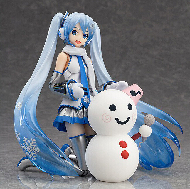 Anime Vocaloid Hatsune Miku Snow Figma EX0 16 PVC Action Figure Collection Model Toys Doll 15cm - Lucy store