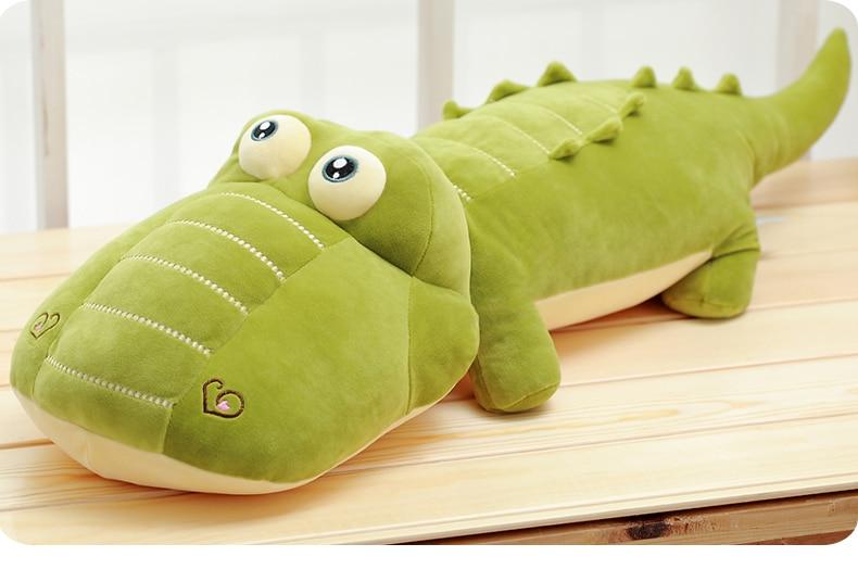 45 / 65cm kawaii plush crocodile plush - პლუშები სათამაშოები - ფოტო 1