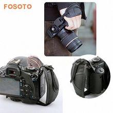 Fosoto Камера запястье руки сцепление ремень для Nikon Sony Canon 5D Mark II 650D 550D 70d 60D 6D 7D nikon D90 D600 D71 DSLR Камера