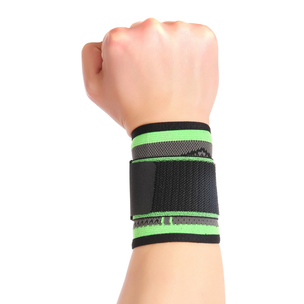 2017 3d Weaving Pressurized Straps Fitness Wristband Crossfit Gym Badminton Powerlifting Wrist Support Brace Bandage Hand Wraps