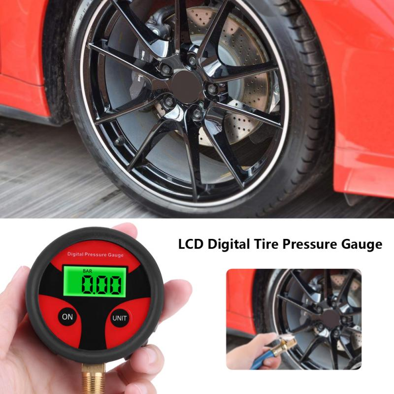 Useful Tire Pressure Guage Digital Cars Truck Auto LCD Meter Testers Tyre Best