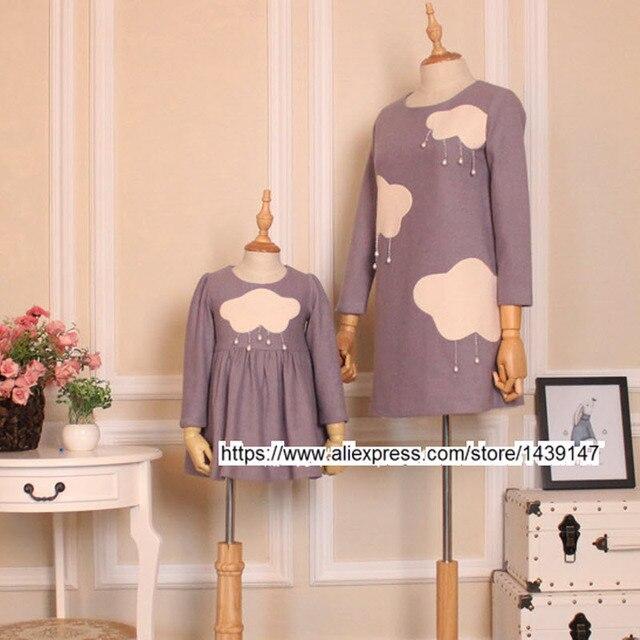 32e2af8e0f9e Children clothing Mother Daughter Dress
