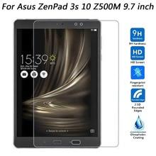 For Asus Zenpad 3S 3 S 10.0 Z500 Z500M Screen Protector Tablet Tempered Glass For Asus Zenpad 3S 3 S 10.0 Z500 Z500M Glass Film цена и фото