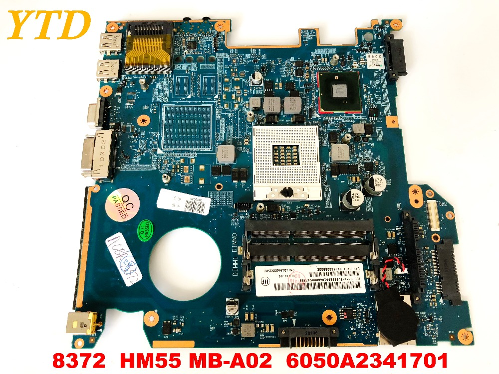 Original for ACER <font><b>8372</b></font> laptop motherboard HM55 MB-A02 6050A2341701 tested good free shipping image