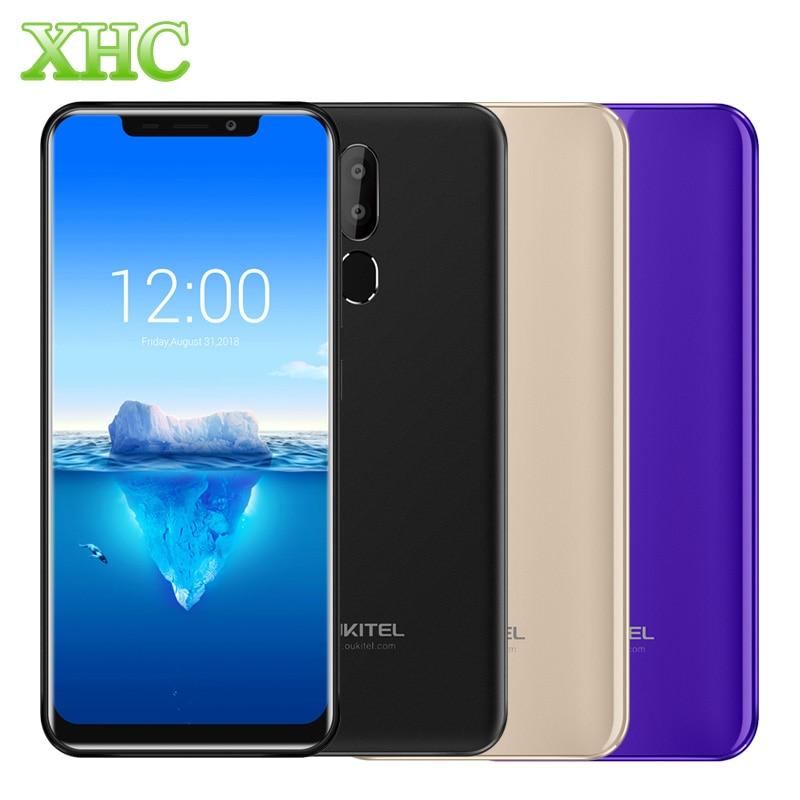 "4G OUKITEL C12 Pro 6.18"" 19:9 Smartphone Android 8.1 MT6739 Quad Core RAM 2GB ROM 16GB Fingerprint Dual SIM 8MP 5MP Mobile Phone"